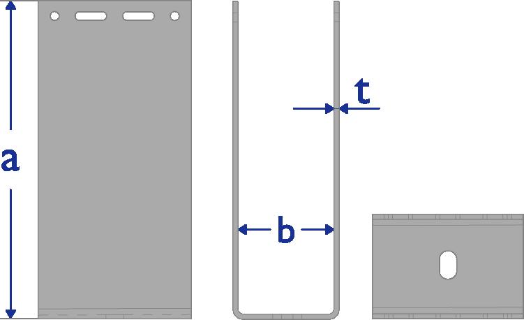 Technische Daten U-Halter-GP